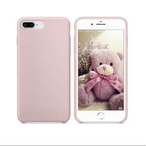 iPhone 7/8 PLUS Pink Sand/Soft Pink Matte Case